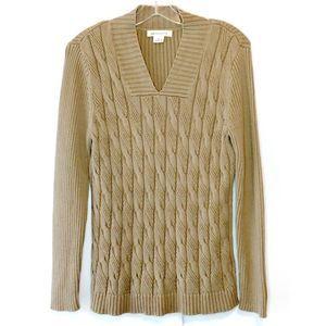 Liz Claiborne Cable Knit Sweater